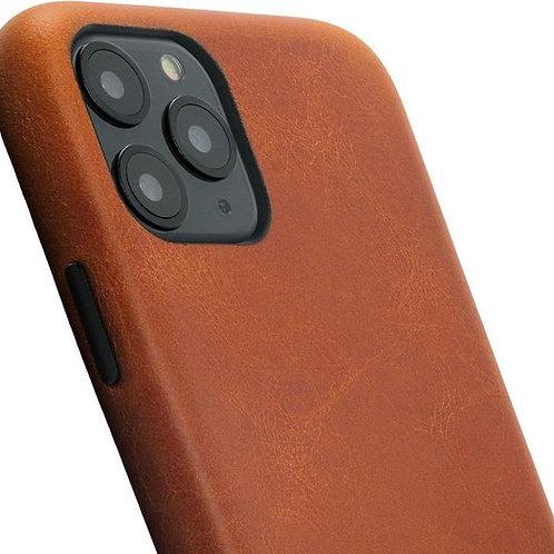 Minim Back Cover Apple iPhone Cognac