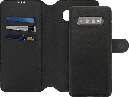 Minim 2 in 1 Wallet Case Samsung Zwart