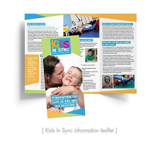 Kids In Sync info leaflet