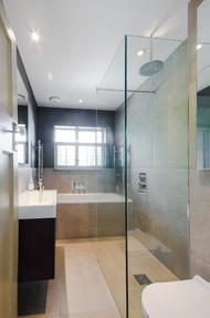 Walk in shower, Surbiton