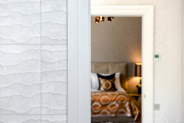 Bathroom to bedroom detail, Surbiton