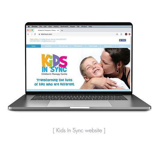 Kids In Sync website
