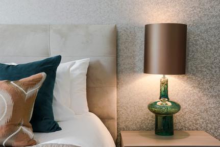 Bedroom detail, Surbiton