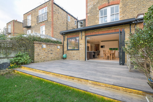 Landscaping and lighting, Barnes