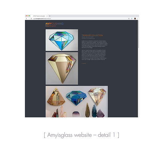 Amyisglass website detail