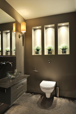 Cloakroom redesign, Balham