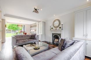 Open plan living space, Surbiton