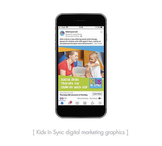 Kids In Sync social media