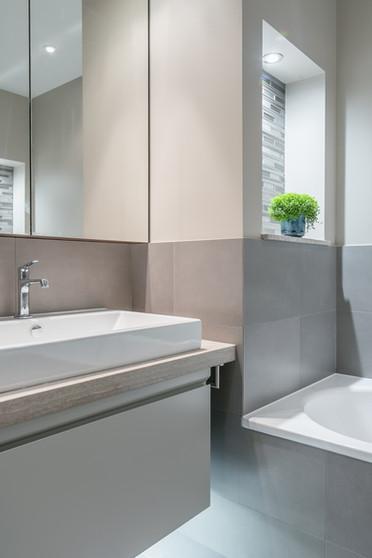 Bathroom redesign, Twickenham