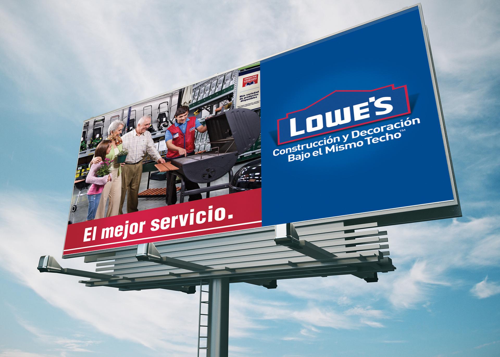 Billboard Lowes Incubo