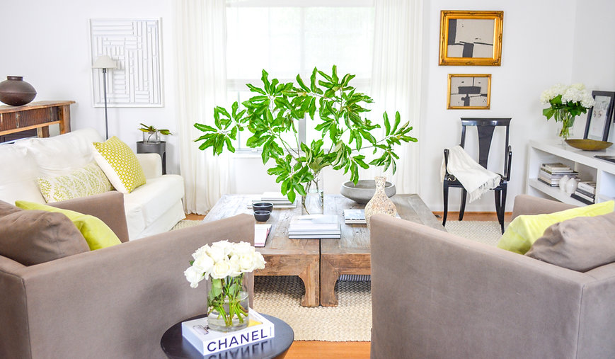 living room design by JMC Studio