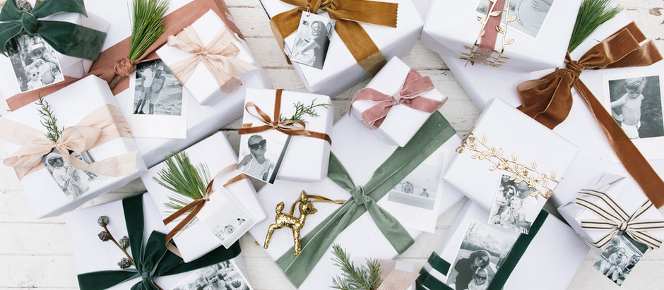 Friday Inspiration: Holiday Wrapping! 15 Wrapping Ideas