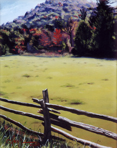 "September Fields, 8"" x 10"""