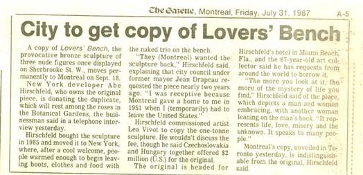 GAZETTE JULY 1987