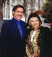 Heraldo Rivera and Lea in Washington