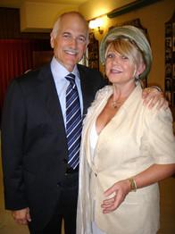 Lea and Jack Layton September 2010