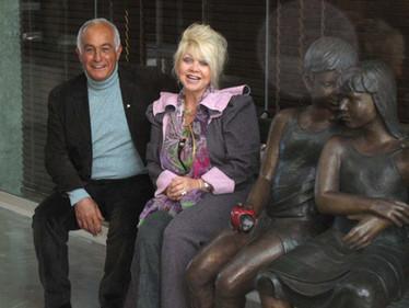 Famous shoe designer Aldo Bensadoun with Lea May 1997