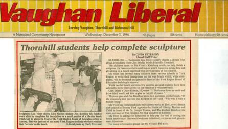 VAUGHAN LIBERAL 1986
