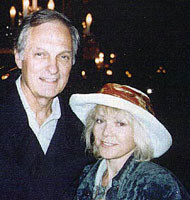 Alan Alda and Lea Vivot