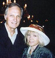Alan Alda and Lea Vivot