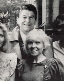 Lea and Ronald Regan