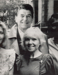 Lea and Ronald Regan