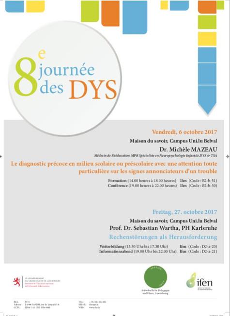 Conférence Dr Mazeau - 6 octobre 2017