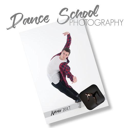 "DANCE: 8""x12"" Collage Print"