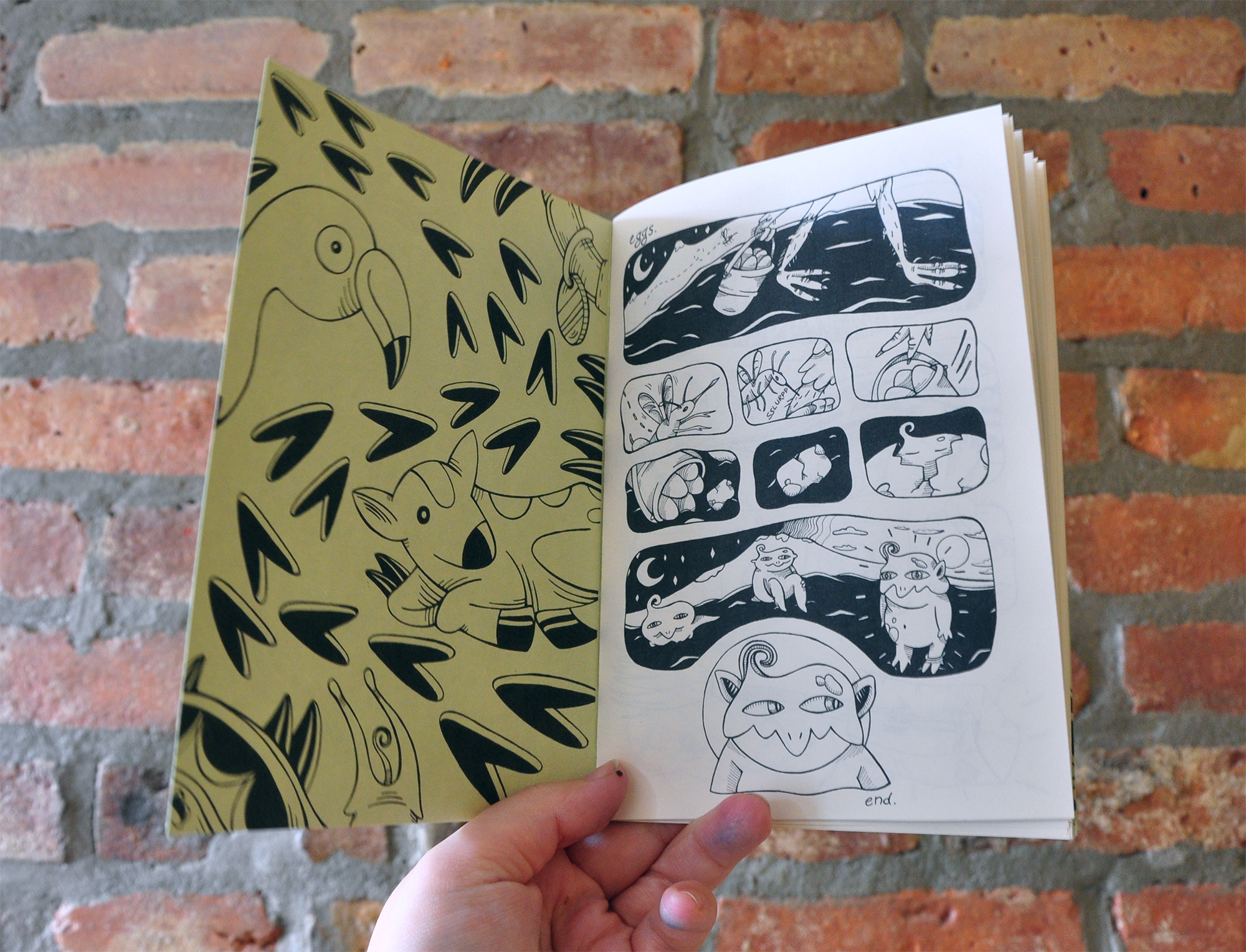 Minicomic (untitled.)