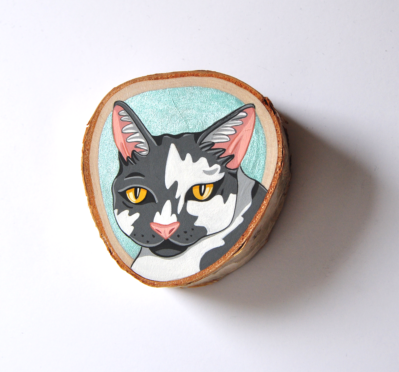 """""""Cat (Turquoise)"""""""