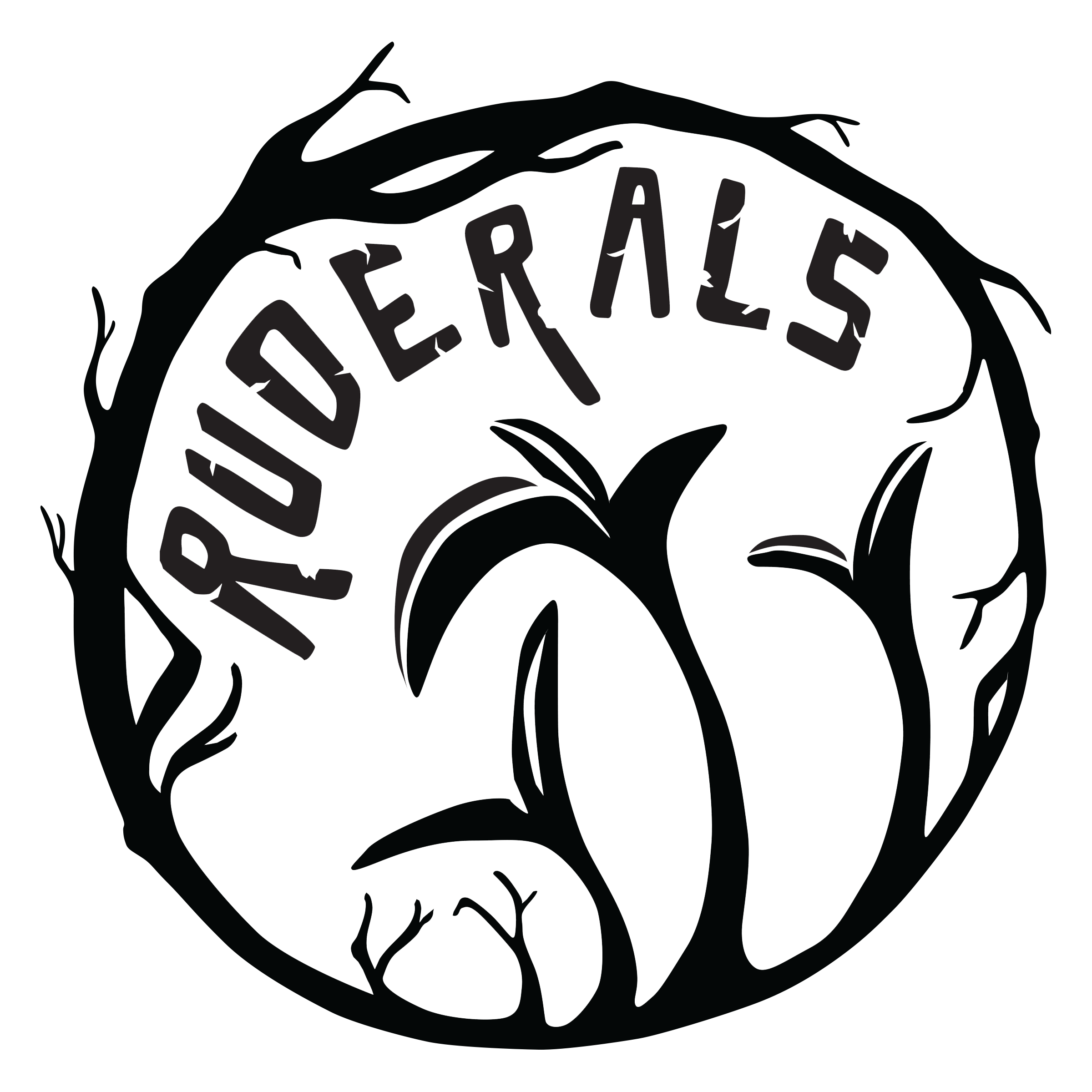 Logo for Ruderals.