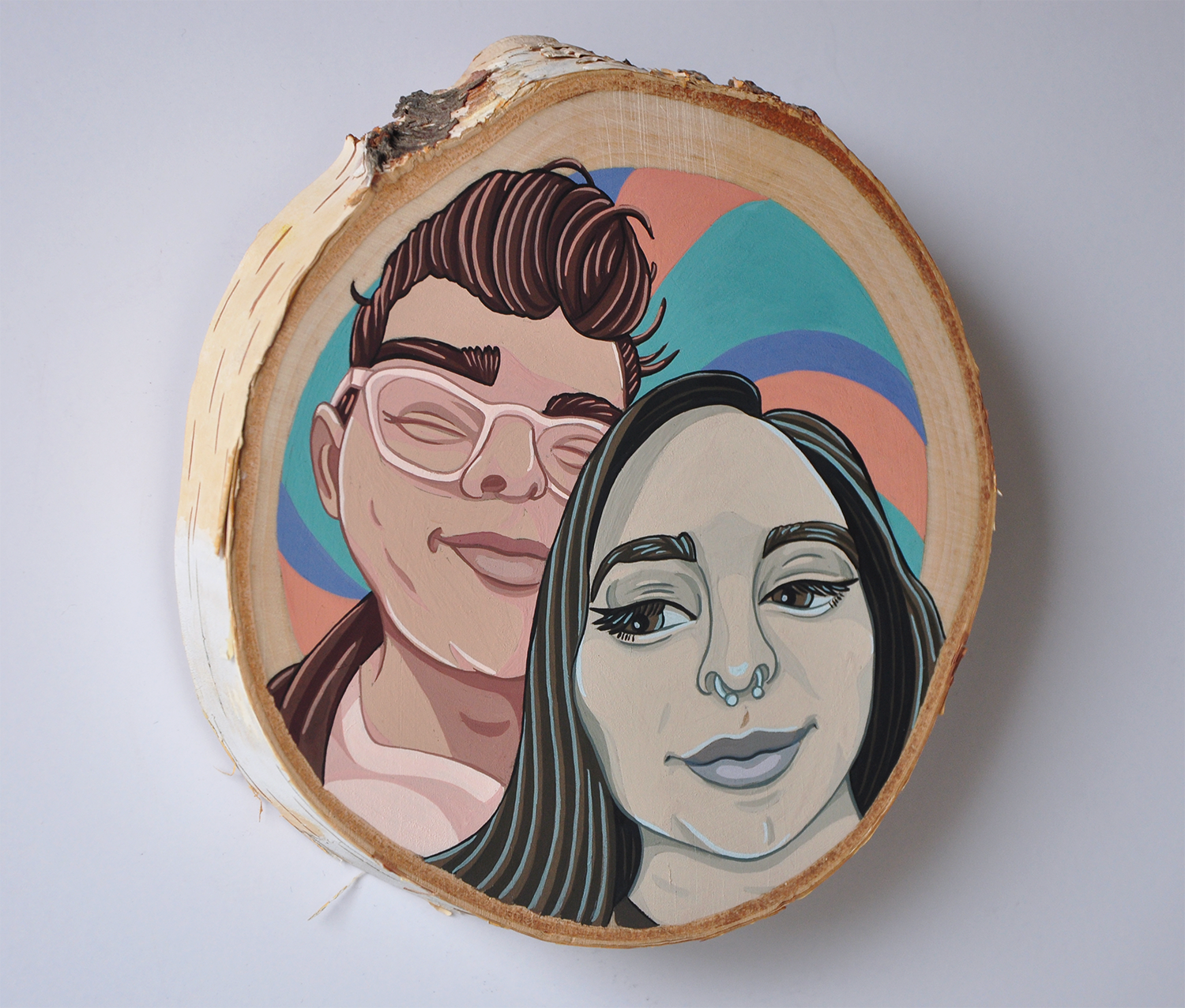 Portrait of Alex and Sarah