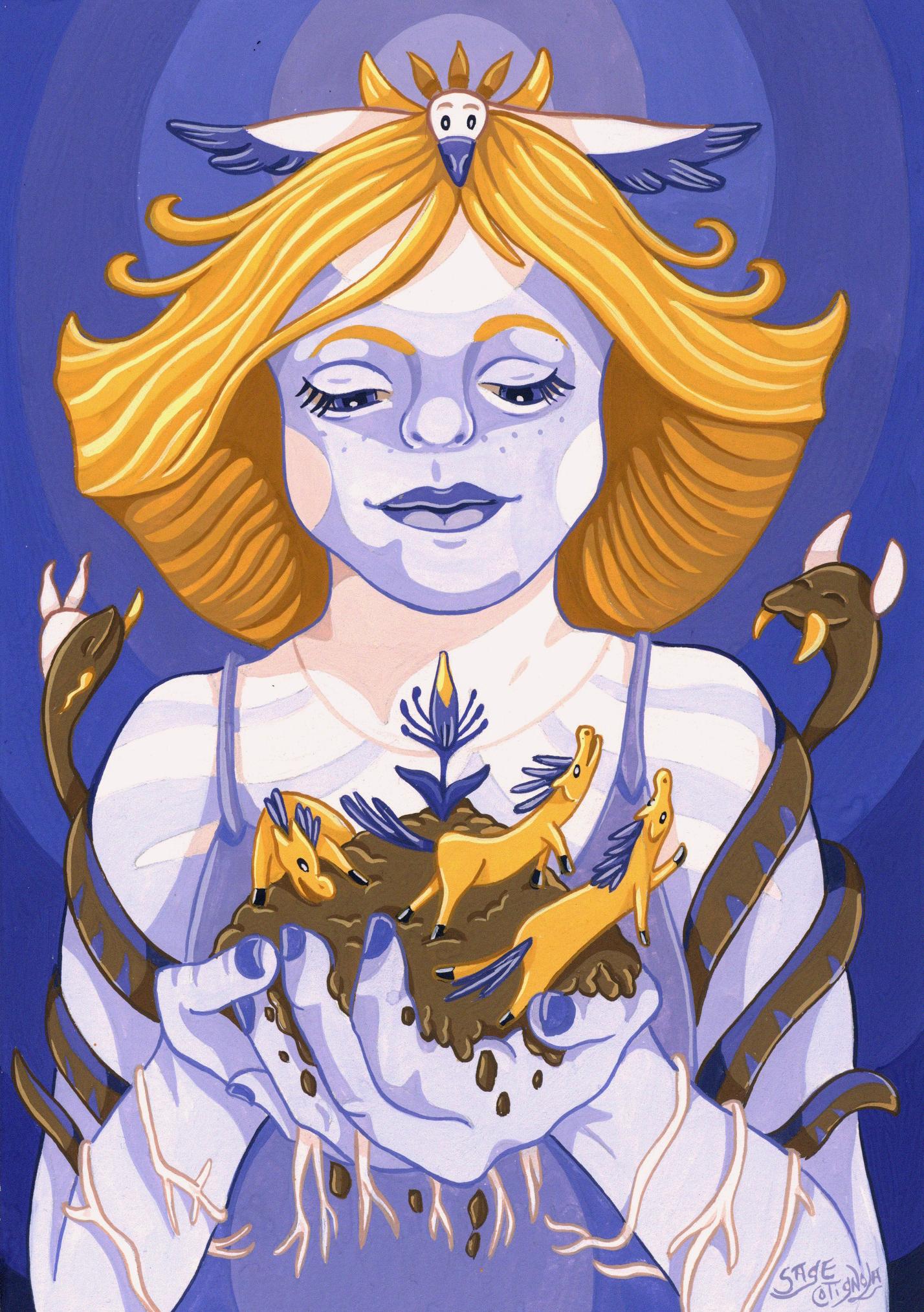 """Goddess (Thrive)"""