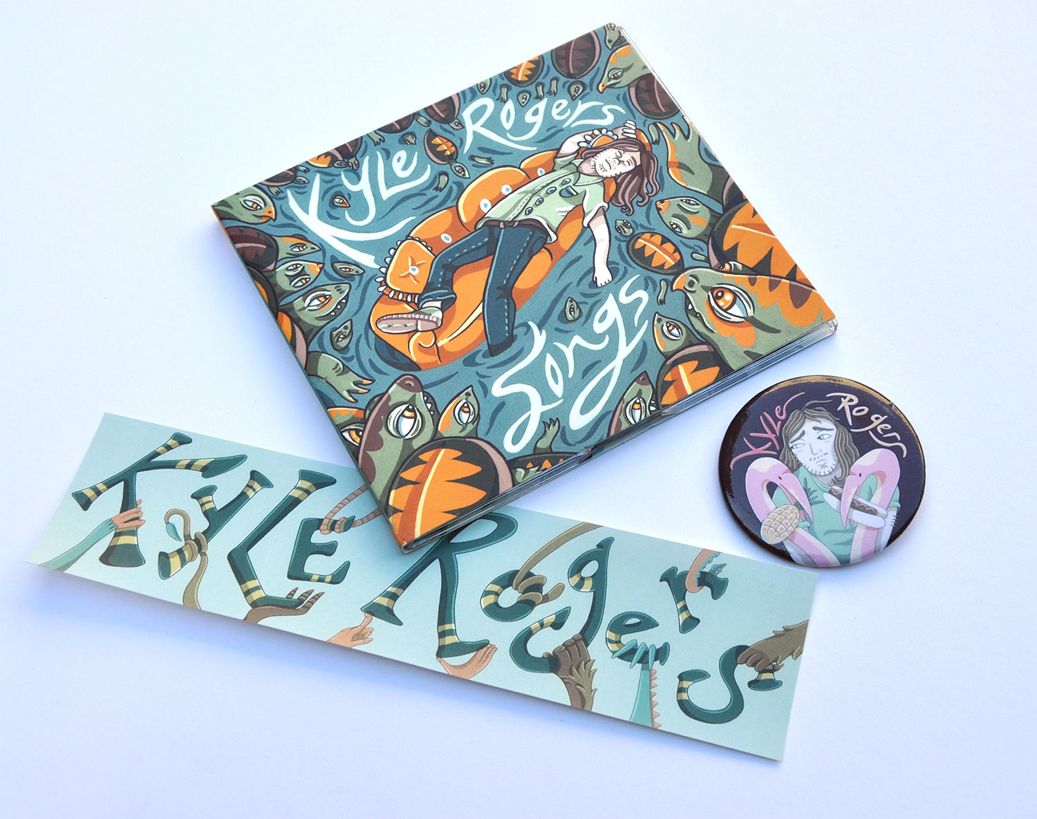 Album art & merch for Kyle Rogers