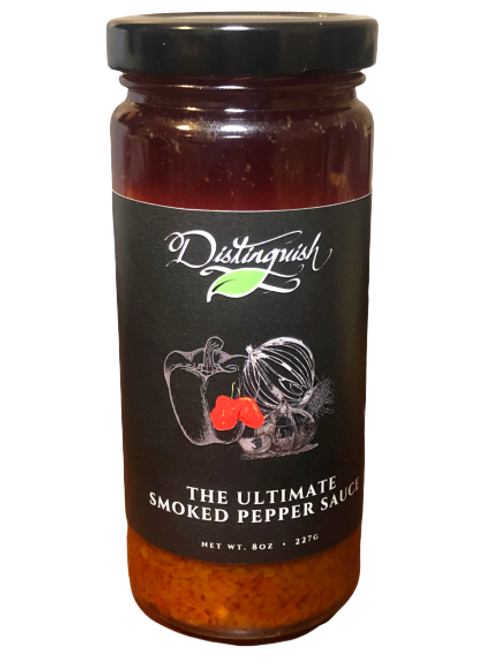 The Ultimate Smoked Pepper Sauce
