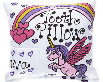 Unicorn Tooth Pillow
