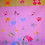 Thumbnail: Personalized baby girl Flower garden quilt handmade pink and green floral quilt