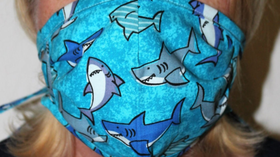 Baby shark boy face mask personal use face masks non medical