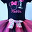 Thumbnail: Hot pink and black zebra Mouse 1st birthday outfit first birthday party