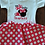 Thumbnail: Pink and white polka dot I'm Twodles Mouse 2nd birthday outfit second birthday