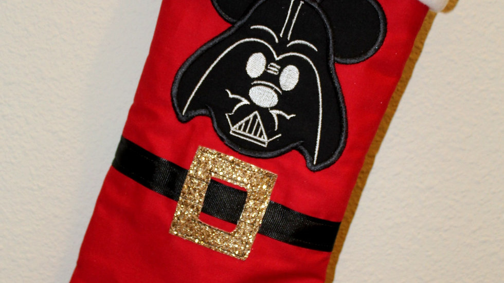 Darth Mouse Daddy Christmas stocking Christmas stockings