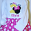 Thumbnail: Mouse I'm Twodles 2nd birthday shirt and hot pink and white polka dot skirt