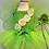 Thumbnail: Garden fairy baby girl Halloween costume Green fairy costume
