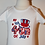Thumbnail: Patriotic My first 4th of July baby boy red white and blue bodysuit