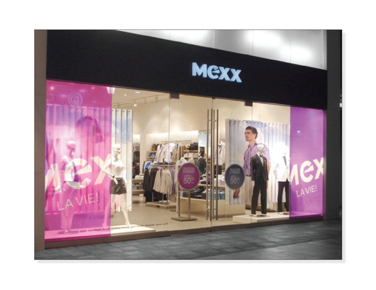 Vitrine, Mexx