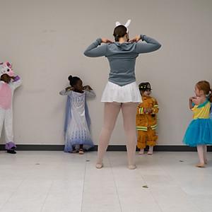 Halloween Dance Class