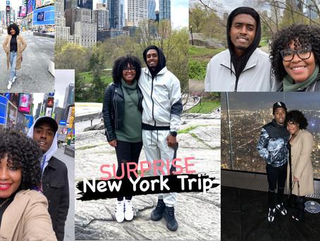 Surprise New York Trip