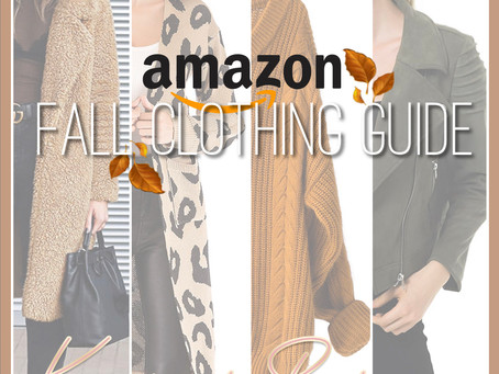 Amazon Fall Clothing Guide