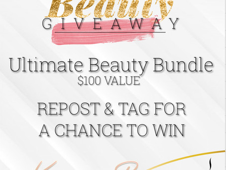 Blog Relaunch Beauty Giveaway