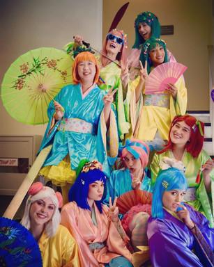 The little ladies of POP's The Mikado
